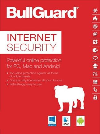 BullGuard Internet Security (3 Devices, 1 Year) - PC, Android, Mac