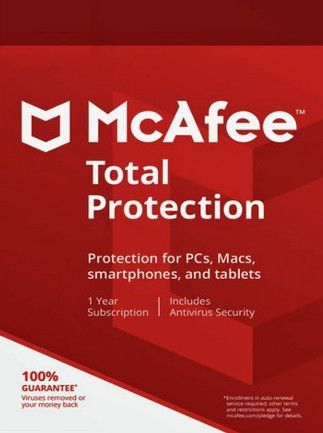 McAfee Total Protection Unlimited Devices 1 Year Multidevice