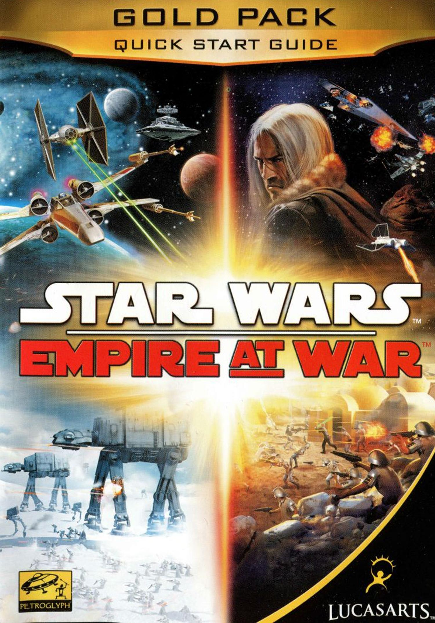 Star Wars Empire at War: Gold Pack