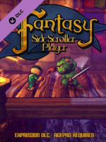 Axis Game Factory's AGFPRO Fantasy Side-Scroller Player