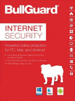 BullGuard Internet Security (5 Devices, 1 Year) - PC, Android, Mac