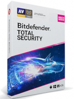 Bitdefender Total Security (5 Devices, 1 Year) - PC, Android, Mac, iOS