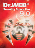 Dr.Web Security Space 9.0 PC 1 Device 12 Months Key
