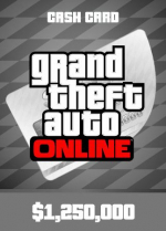 Grand Theft Auto Online: Great White Shark Cash Card 1 250 000