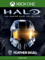 Halo The Master Chief Collection Feather Skull - Xbox One