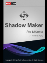 MiniTool ShadowMaker Pro Ultimate 3 Devices 1 Year MiniTool Solution