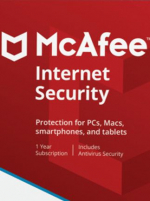 McAfee Internet Security 3 Devices 1 Year