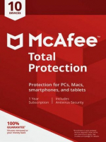 McAfee Total Protection 10 Devices 1 Year Multidevice