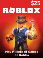 Roblox Card 25 USD