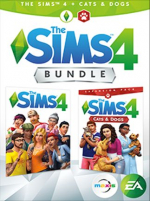 The Sims 4 Plus Cats & Dogs Bundle Xbox One
