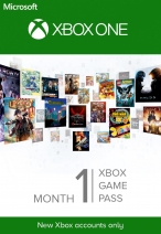Xbox Game Pass 1 Month Trial Xbox ONE (Only New Accounts)